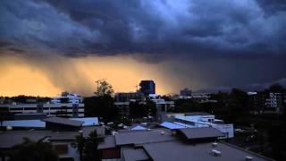 Brisbane Lightning Storm 2015 Timelapse
