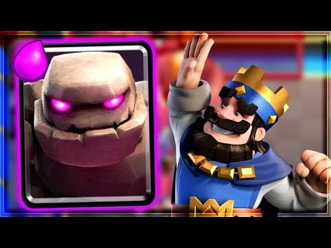 Clash Royale - BEST BEATDOWN DECK! Trophy Push
