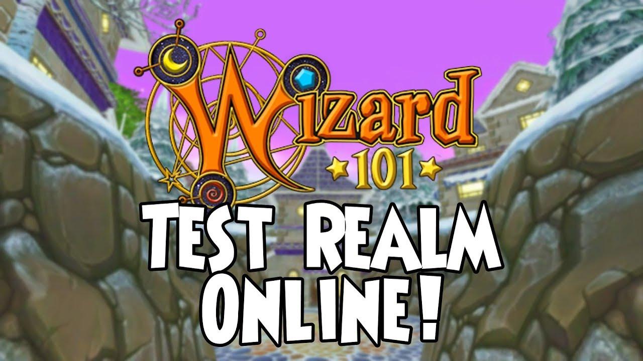 Wizard101 - Test Realm is Online 2019! (Updates)