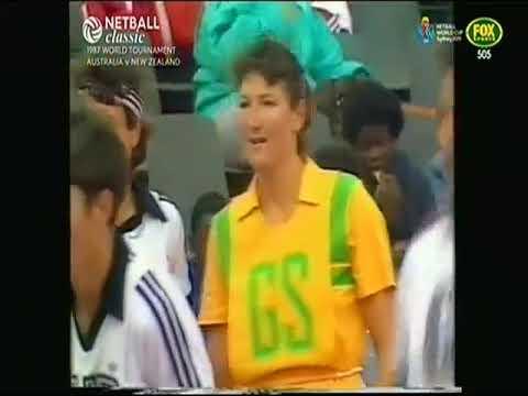 1987 NETBALL WORLD CHAMPIONSHIPS - AUSTRALIA  Vs NEW ZEALAND