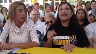 Irma Bello envía mensaje al GNB que la agredió brutalmente en protesta en Puerto Ordaz