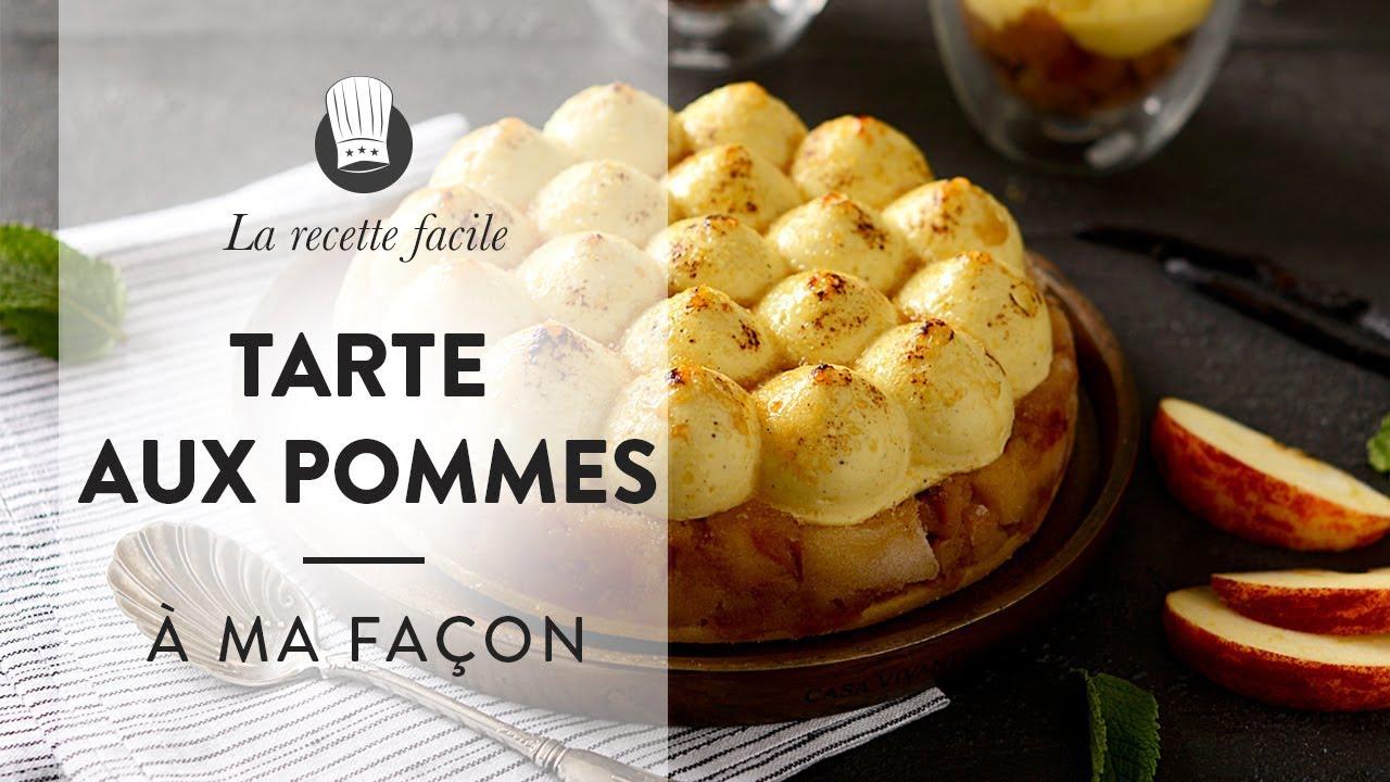 La Recette De La Tarte Aux Pommes à Ma Façon De Chef Philippe