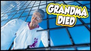 grandma broke every bone in her body in the pit of death stuntfest gameplay