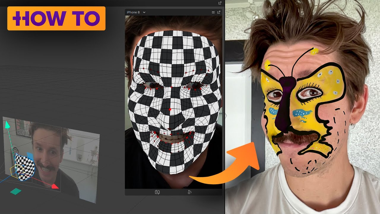 Make Instagram Face Filters with Procreate and Spark AR: Tutorial