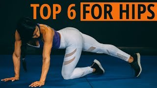 The BEST Stretches to OPEN up TIGHT HIPS (Improve HIP Mobility)