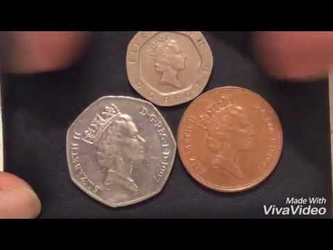 UK COINS 1997 year.50 Pence.20 Pence.2 new Pence.монеты Англии.Qepik