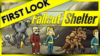 First Look - Fallout Shelter (PC 2016 Fallout Shelter Gameplay Review)