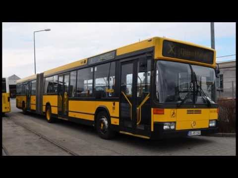 [Sound] Mercedes Benz O 405 GN2 DVS (ex DVB Dresden) 930 505-5 DD-VS-1105 - ZF 5HP 590