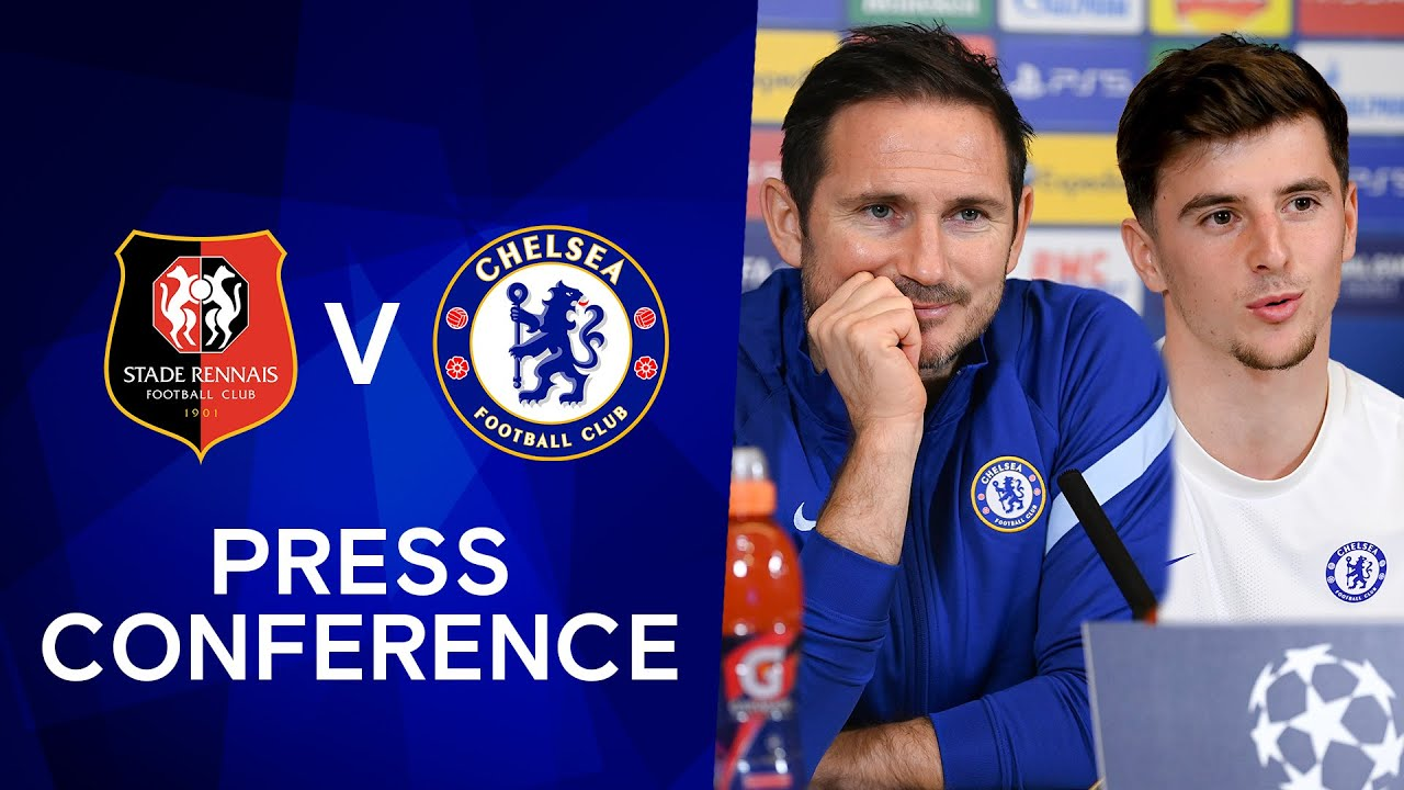 Frank Lampard & Mason Mount Press Conference: Rennes v Chelsea | Champions League