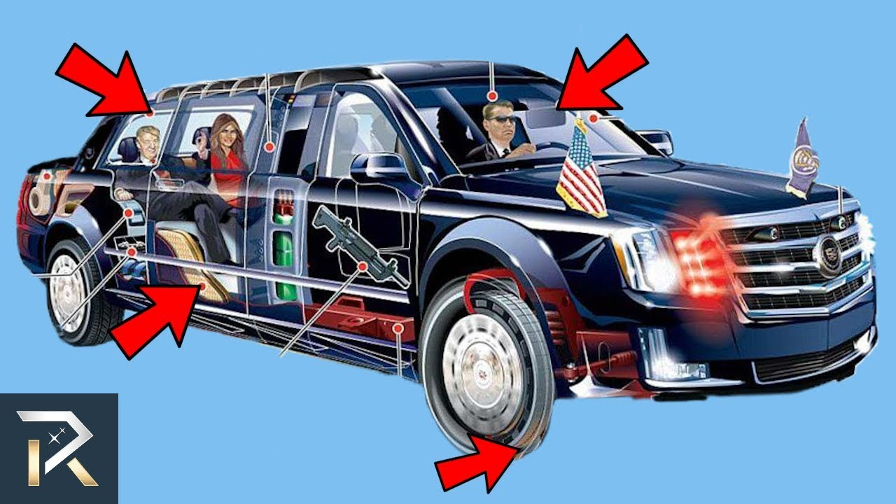 10 Hidden Details You Didn't Know About President Trump's Vehicle