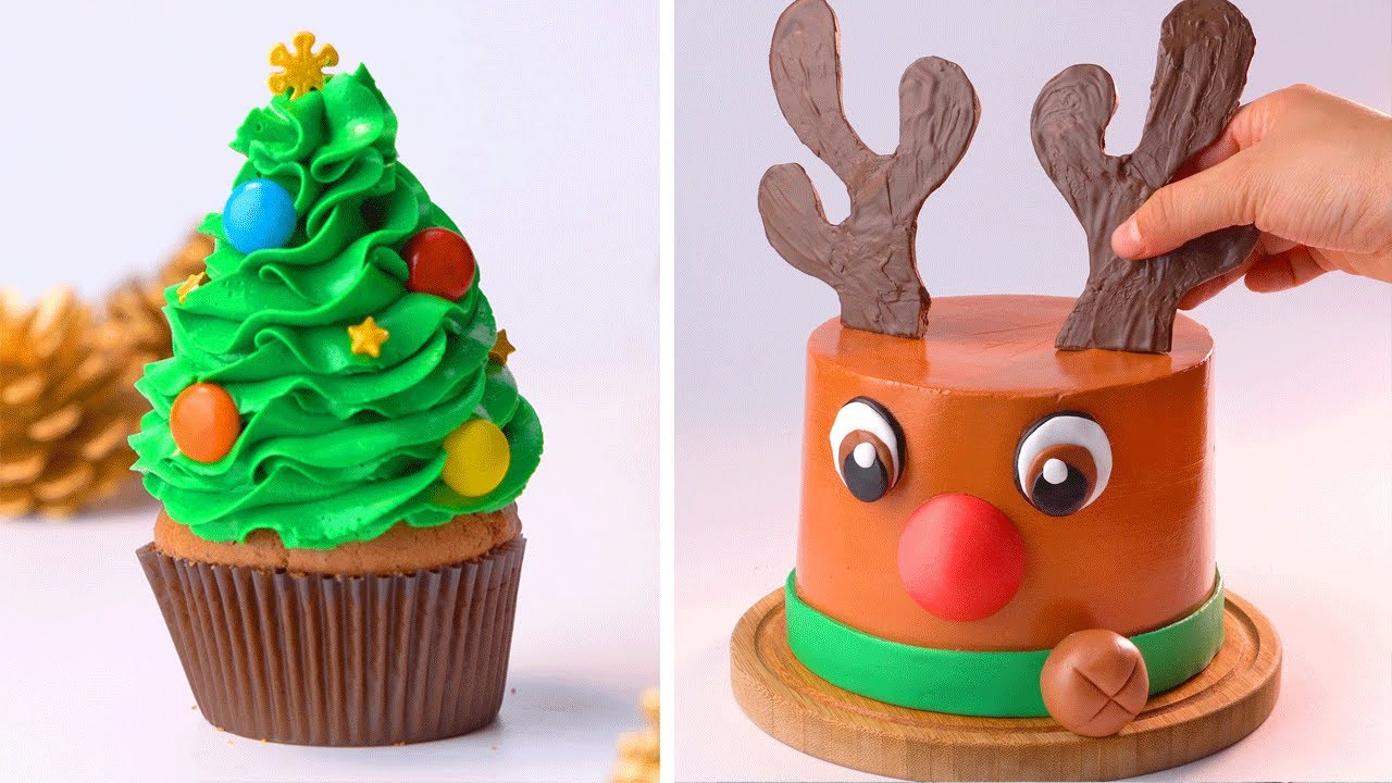 10+ Easy Cake And Dessert Tutorials For Holiday | Beautiful Cake And Cupcake Decorating | So Tasty