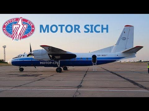 FLIGHT REPORT / MOTOR SICH ANTONOV 24 / ZAPORIZHIA - KIEV (IEV)