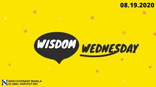 08.19.2020 Online Devotional: Wisdom Wednesday
