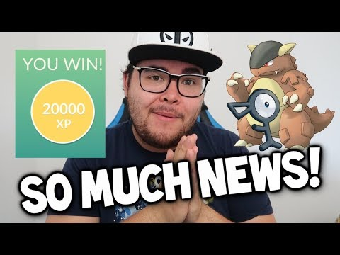 POKEMON GO NEWS: RARE CANDY GAME CHANGER?! NEW KANGASKHAN EVENT + MORE UNOWNS & MORE!