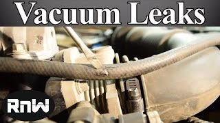 How to Find and Fix Vacuum Leaks - Ultimate Guide