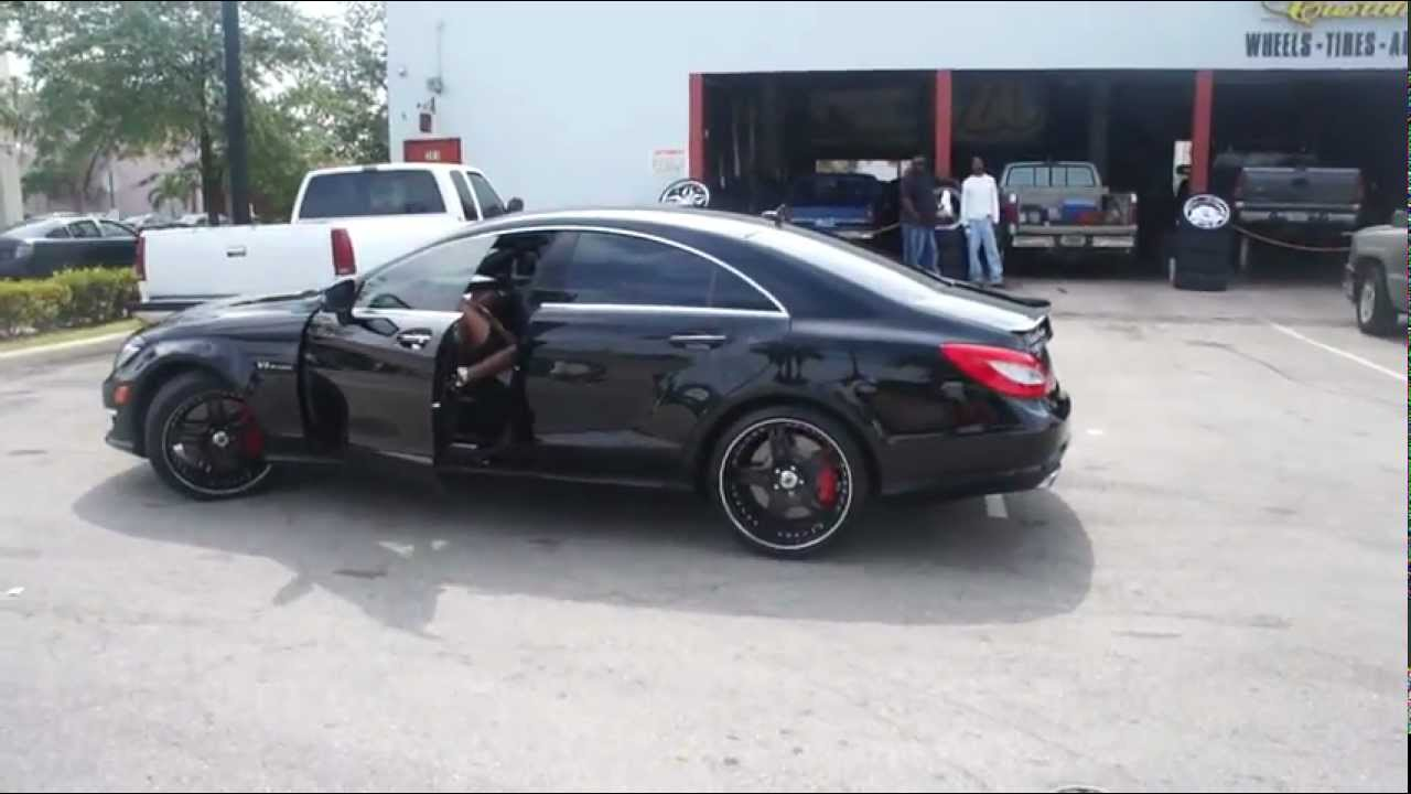 Mercedes Benz Cls 63 On Dem 22 Quot Asanti S Grown Man