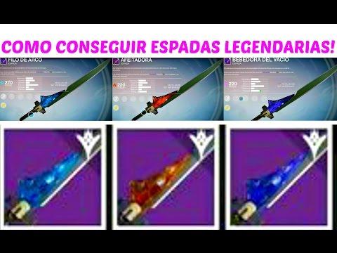 Destiny | COMO CONSEGUIR ESPADAS LEGENDARIAS! (THE TAKEN KING) (EL REY DE LOS POSEÍDOS)