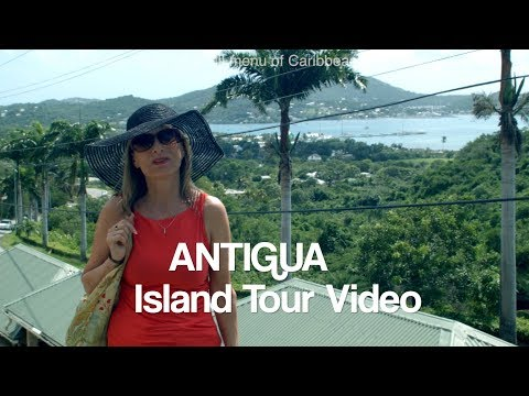 Antigua Bus Tour, Jean's video report for Doris Visits
