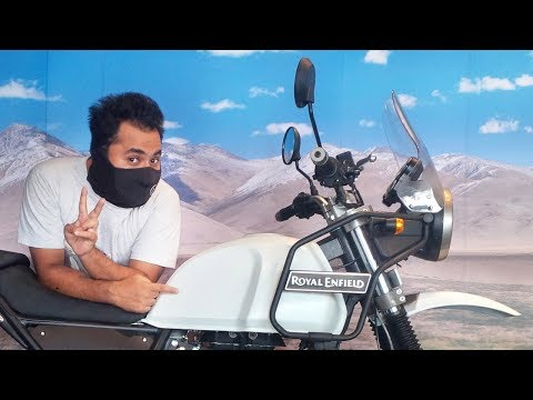 Royal Enfield Himalayan BS4  - RE Hater gets TEMPTED!