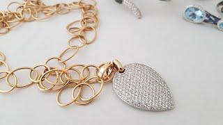 Обзор украшения Casato белое и желтое золото, свыше 5 карат белых бриллиантов!