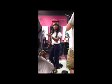 Shelly Ann Fraser Pryce Gives A Tour Of Her Hair Salon In Jamaica
