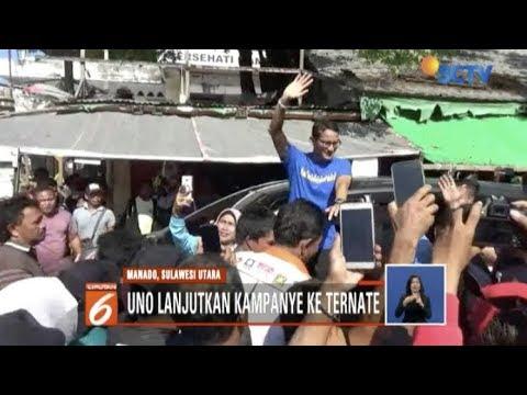 Kampanye di Kota Manado, Sandiaga Uno Disambut Hangat Kaum Wanita - Liputan 6 Siang Mp3