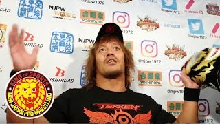 Mar 15 NEW JAPAN CUP 2018 - 4th match : Post-match comments [English / Japanese subs]