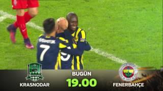 """""""Krasnodar-Fenerbahçe"""" UEFA Avrupa Ligi Karşılaşması"""