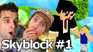 NIEUW BEGIN! Minecraft - Skyblock #1