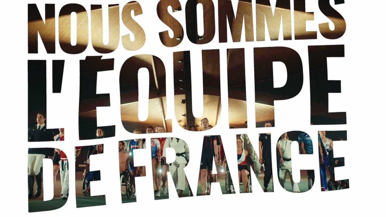 Nous sommes l'équipe de France