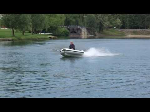 Jettender 250X, 15HP engine, water jet propulsion, 45 km/h - 25 knots