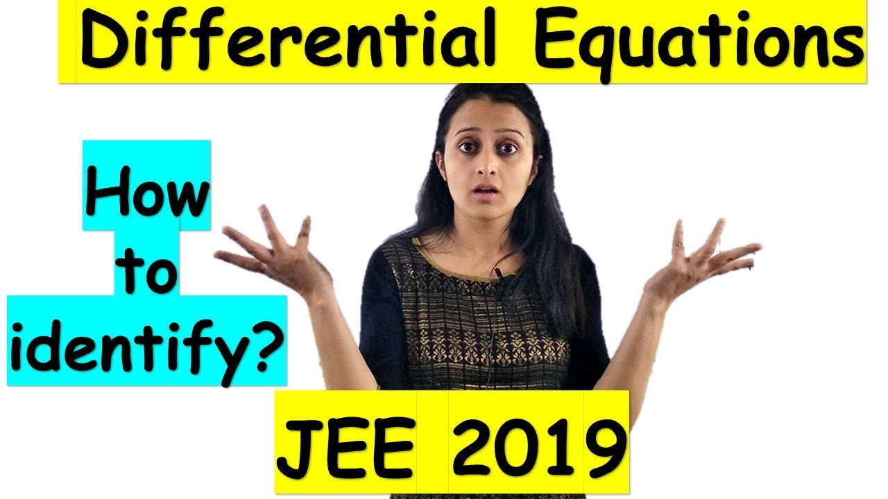 Download DIFFERENTIAL EQUATIONS JEE Mains 2021 TRICK / How to identify and solve a differential equation