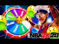 I USED THE WHEEL OF TRASH JUMPSHOTS IN NBA 2K20 and couldn't hit a shot...