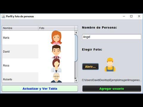 Imagenes en Mysql y Java Netbeans, cargar y guardar imagenes