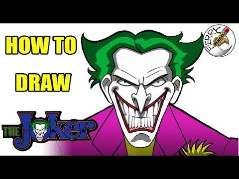 How To Draw Joker Face Youtube