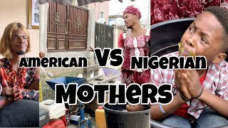 IAMDIKEH - AMERICAN VS NIGERIAN MOTHERS GROUNDING A KID 😂🤣😂