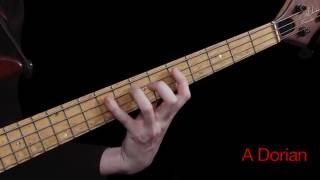 Learn Bass Lesson 26 - The Aeolian Mode