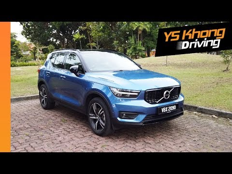 Volvo XC40 T5 R-Design (Pt.1): Walkaround Review - Comes with Many Great Features | YS Khong Driving