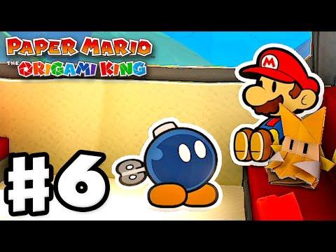 Autumn Mountain! Bob-omb! – Paper Mario: The Origami King – Gameplay Walkthrough Part 6