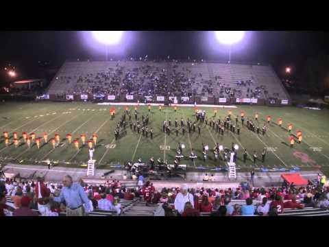Ware County High School Golden Gator Band - October 10, 2014