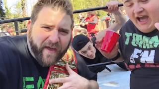 most shocking ending ever no dq match for youtube wrestling figures heavyweight championship