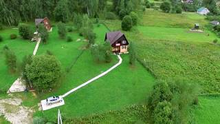 """Красивые  дома на живописном  берегу реки """"Ресса""""   д Симоново"""
