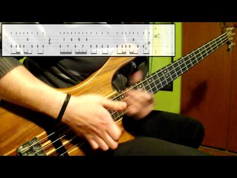 Daft Punk - Lose Yourself To Dance (Bass Cover) (Play Along Tabs In Video)