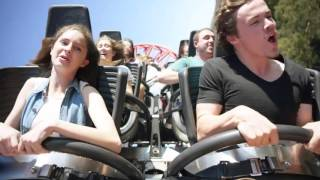 Guy takes on the highest inversion coaster in the Southern Hemisphere!