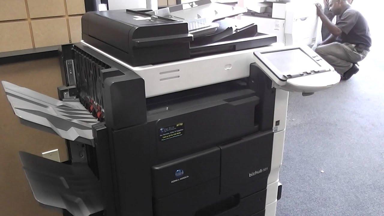 Already sold Used Konica Minolta Bizhub 501 Copier Printer Scanner on eBay