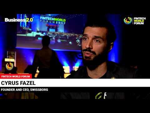 Cyrus Fazel, SwissBorg - FINTECH WORLD FORUM Interview in London