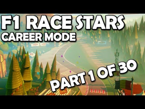 F1 Race Stars: Career Mode Walkthrough (1/30) - Initiation Cup [360/PC/PS3/WiiU]