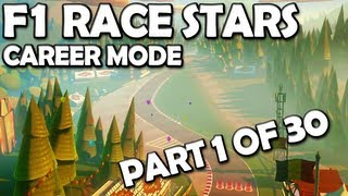 F1 Race Stars: Career Mode Walkthrough (1/30) - Initiation Cup [360/PC/PS3/WiiU]