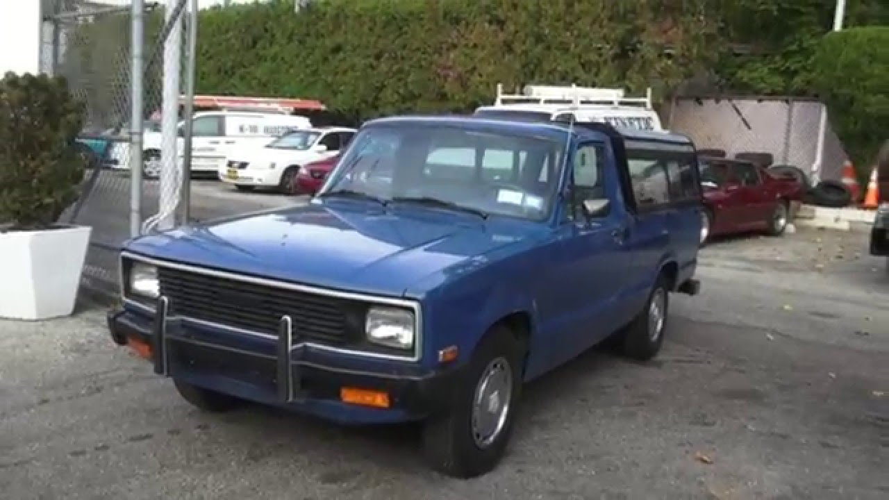 1983 mazda b2000 4 speed pickup truck youtube