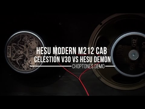 Hesu Cabinet M212 | Celestion Vintage 30 vs Hesu Demon Speaker | Metal Demo (Randall Satan)